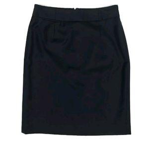 J Crew 100% Wool Pencil Skirt